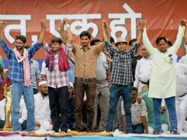The Dalit rally in Una was attended by JNUSU president Kanhaiya Kumar, documentary filmmaker Anand Patwardhan, Dalit activist Martin Mackwan and ex-IPS officer Rahul Sharma. PTI