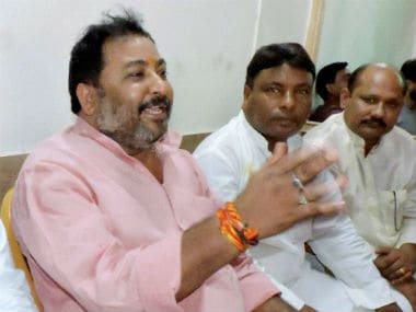 Ex BJP leader Dayashankar Singh released from jail; heads to Lucknow to meet his family