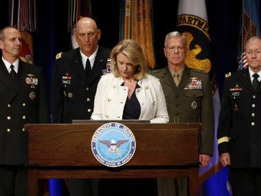 US Air Force Deborah Lee James. Reuters