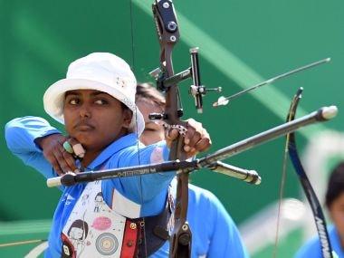 India's Deepika Kumari at the Rio Olympics. AFP