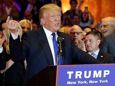 Republican presidential candidate Donald Trump. File photo. AP