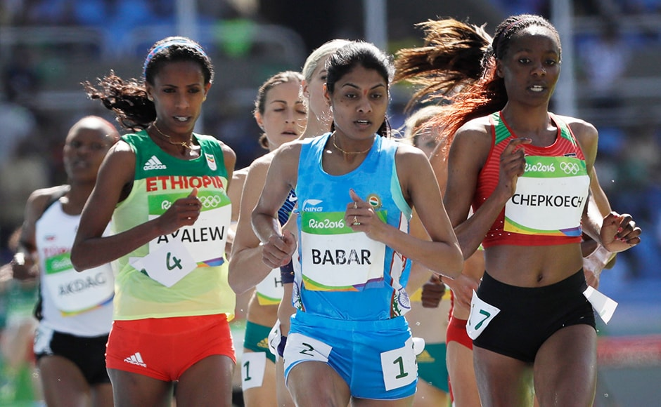 Rio Olympics 2016: Team India disappoints, Lalita Babar sole winner for the day