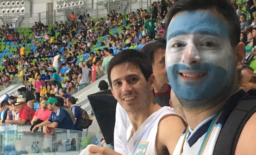 Humans of Olympics: Meet Nahuer Ortega, one of Argentinas many fans thronging Rio