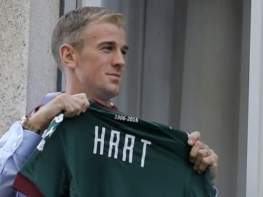 Joe Hart says he is happy with his move to Serie A club Torino. AFP
