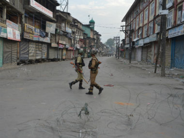 Kashmir unrest: Curfew lifted from parts of Srinagar even as normal life remains affected