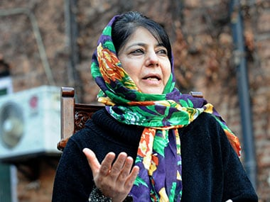 Handful of people opposed to peace inciting trouble in Kashmir: Mehbooba Mufti
