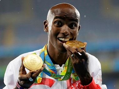 Rio Olympics 2016: Mo Farah completes historic double double, wins gold in 5,000m