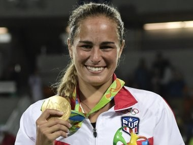 Monica Puig defeats Angelique Kerber in Rio 2016 to win Puerto Ricos first ever Olympic gold