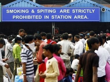 When it comes to spitting, India stands united from Kashmir to Kanyakumari