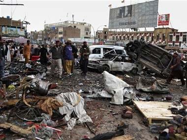 Pakistan Blast : 11 killed and over 20 wounded  in Quetta suicide car attack