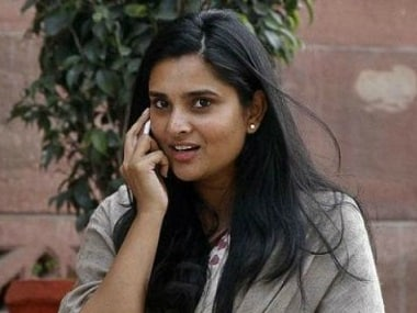 File photo of Congress leader Ramya. CNN-News18