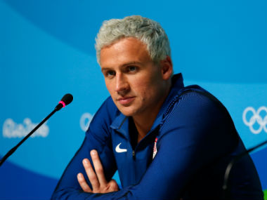 Now, swimmer Ryan Lochte charged over false robbery claim by Brazil authorities