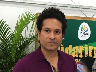 Rio Olympics 2016: Sachin Tendulkar meets Indian contingent at athletes village