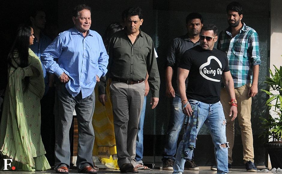 Salman Khans Rakshabandhan t-shirt is as simple as it gets: Being Bhai