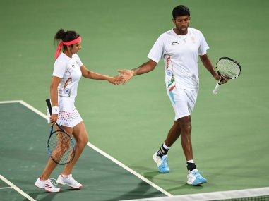 Sania Mirza-Rohan Bopanna cruise into semi-finals of Rio Olympics 2016 with comfortable win