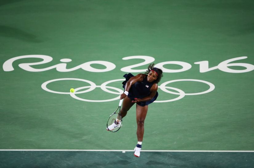 Serena Williams. Getty Images