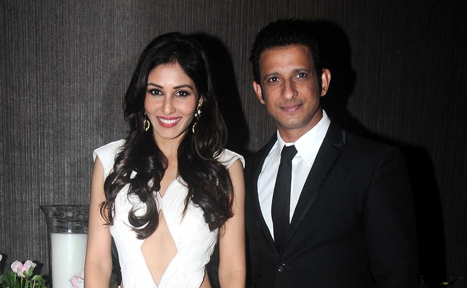 Sharman Joshi with former beauty queen Pooja Chopra. Sachin Gokhale/Firstpost