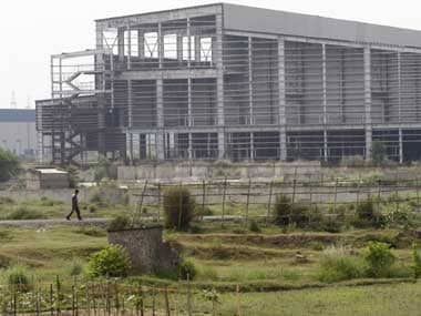 The dilapidated Tata Nano plant in Singur. Reuters