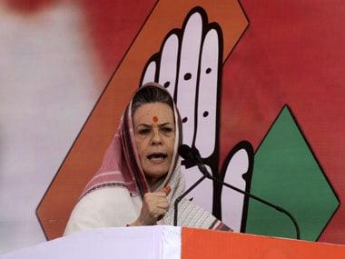Congress president Sonia Gandhi. PTI