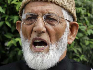 File image of Syed Ali Shah Geelani. Reuters