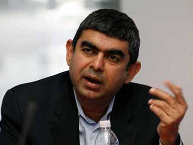 Infosys Vishal Sikka says journey ahead challenging, promises jobs despite global worries