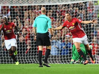 Zlatan Ibrahimovic brace downs Southampton as Paul Pogba makes Manchester United return