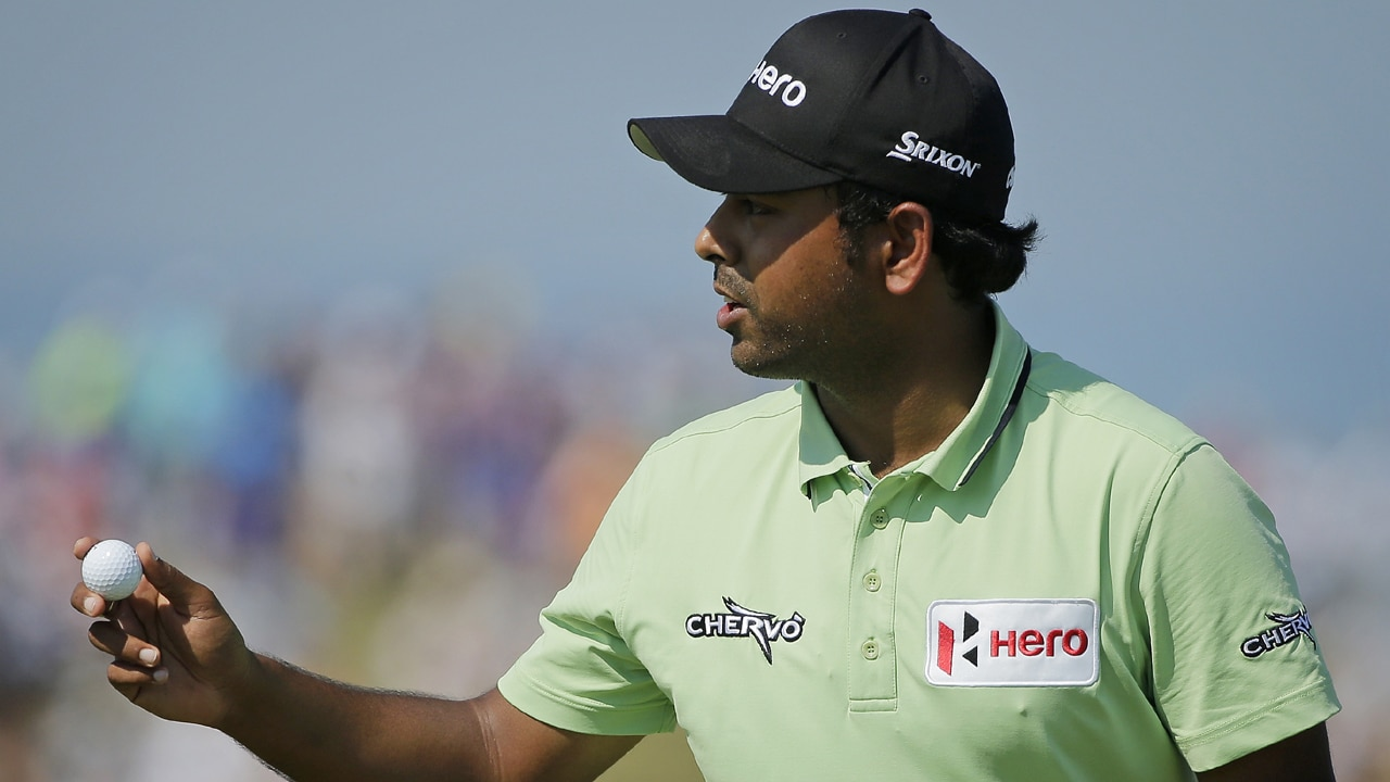 Anirban Lahiri. Getty Images