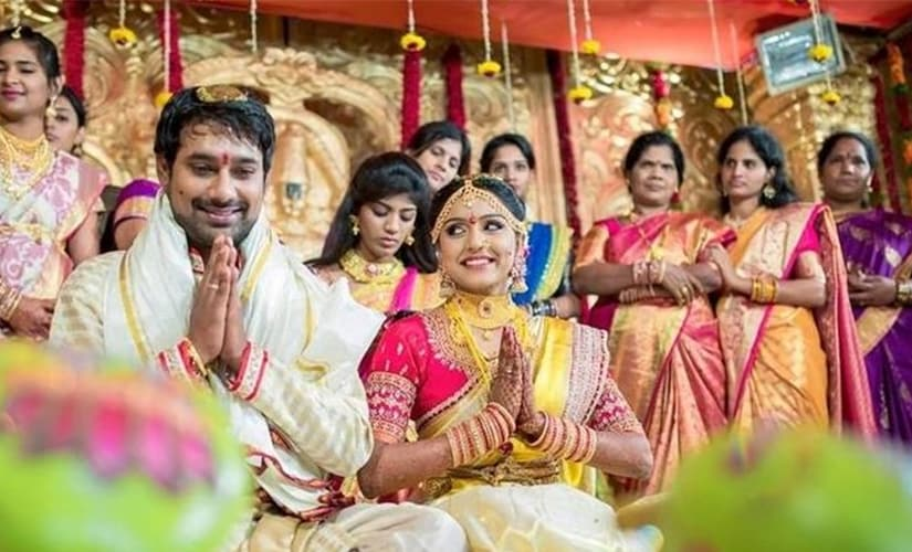 Happy Days star Varun Sandesh marries actress Vithika Sheru in a private ceremony