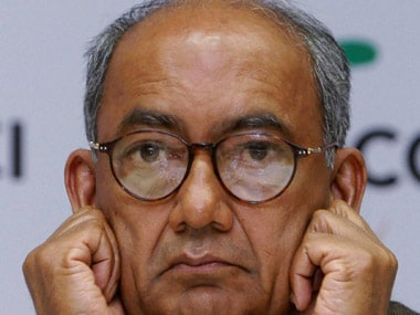 File image of Congress leader Digvijaya Singh. PTI