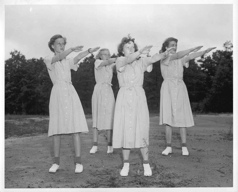 Your fitness programme needn't be as regimented as that from the 1950s! Photo courtesy Ned Horton/Freeimages