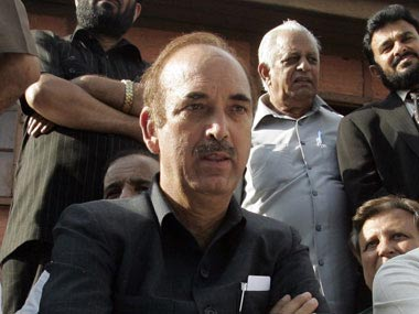 Jammu & Kashmir students focus on studies, not politics: Ghulam Nabi Azad