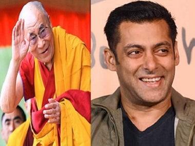 Salman Khan meets the Dalai Lama in Ladakh; accompanied by Iulia Vantur