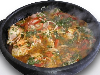 A dish of moqueca. Photo courtesy Claudio Salvalaio/Freeimages