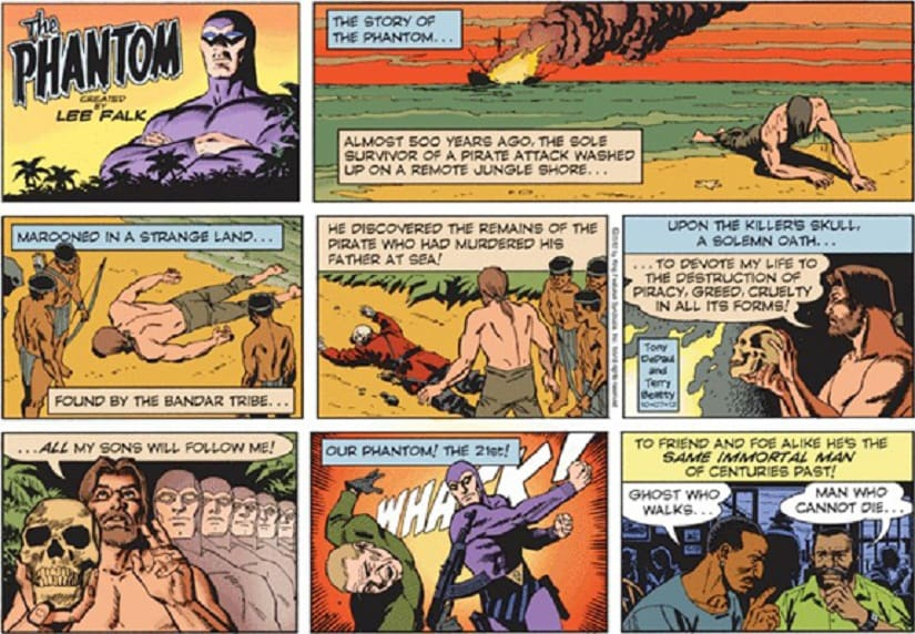 I revisited the Phantom comics I loved growing up, only to find they were ghastly, racist