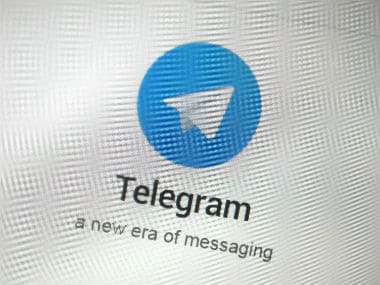 Logo of telegram app. Reuters.