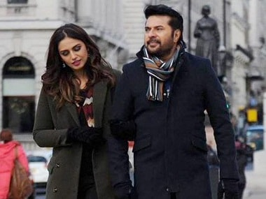 Huma Qureshi and Mammootty in Uday Ananthan's 'White'