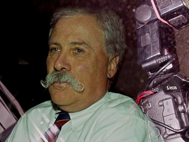 File photo of Chase Carey. AFP