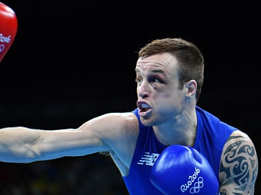 File photo of Ireland's Steven Donnelly. AFP