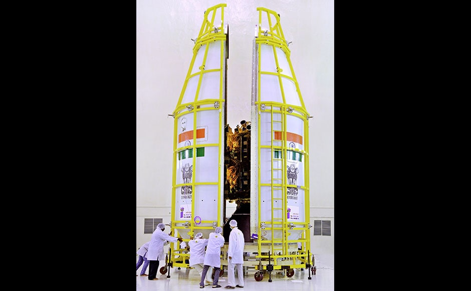 Besides offering a host of services, INSAT-3DR would join the operational Search and Rescue service provided by INSAT-3D to various users, including Coast Guard, Airport Authority of India, Shipping and Defense Services. The designed mission life of INSAT-3DR is 10 years. (Photo: Isro)