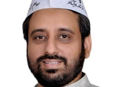 File image of Amanatullah Khan. Image courtesy: Twitter/@KhanAmanatullah