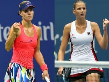 Angelique Kerber takes on Karolina Pliskova in the US Open final.