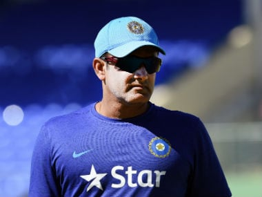File photo of Anil Kumble. AFP