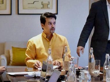Anurag Thakur. PTI file image
