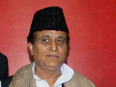 A file image of the UP minister Azam Khan. PTI