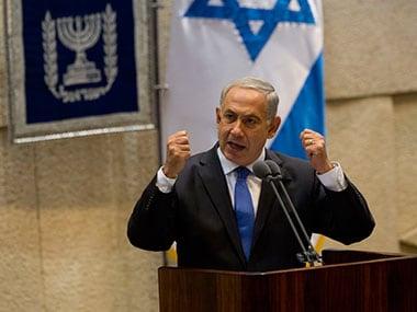A file photo of Benjamin Netanyahu. AP
