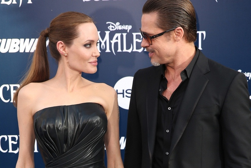 Angelina Jolie and Brad Pitt married in 2014, and have been in a relationship since 2004. Image from AP