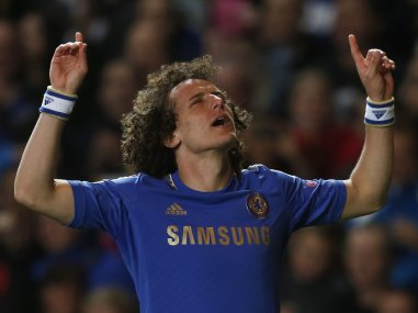File picture of David Luiz. Reuters