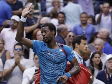 The last time Gael Monfils had reached the semis of a grand slam was at the Roland Garros in 2008. AP