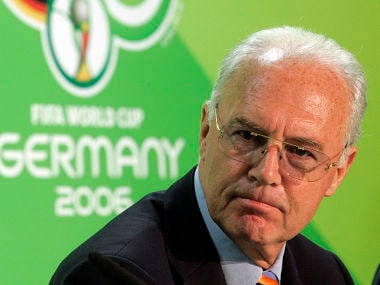 File photo of Franz Beckenbauer. AP