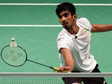 File photo of Kidambi Srikanth. AFP